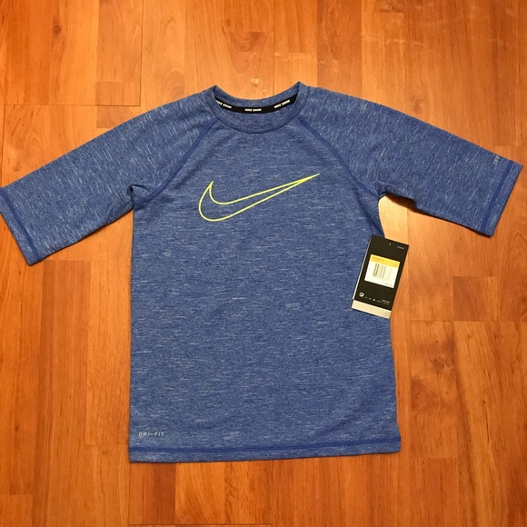 3cadcaa346 Nike Swim | Boys Size Small Rash Guard Shirt | Poshmark